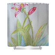 Tulip Duo II Shower Curtain