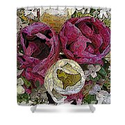 Tulips To You Shower Curtain