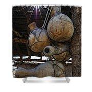 Tumacacori Gourds Shower Curtain