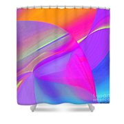 Tumbled Shower Curtain