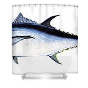 Tuna Shower Curtain