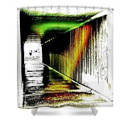 Tunnel Of Colour Shower Curtain