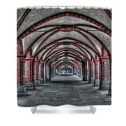 Tunnel With Arches Shower Curtain