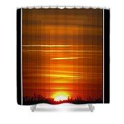 Tunnle Vision Shower Curtain