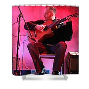 Turab Guitar Player Victor Kawas Shower Curtain