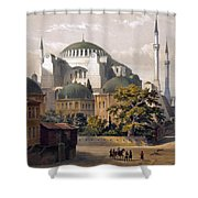 Turkey: Hagia Sophia, 1852 Shower Curtain
