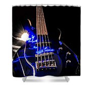 Turn Up The Bass Shower Curtain