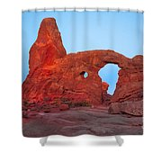 Turret Arch II Shower Curtain