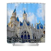 Turrets And Spires Shower Curtain