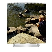 Turtle Time Shower Curtain
