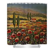 Tuscany And Texas 2 Shower Curtain