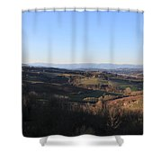 Tuscany Valleys At Sunset Shower Curtain