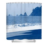 Twilight Blue Shower Curtain