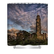 Twilight Painter Shower Curtain
