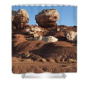 Twin Rocks Capitol Reef Np Shower Curtain