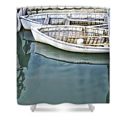 Twins Color Shower Curtain