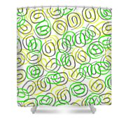Twirls Shower Curtain