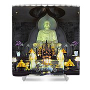 Twisted Buddha Shower Curtain