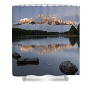 Two Jack Lake, Banff National Park Shower Curtain