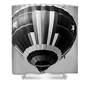 Two Star Balloon Shower Curtain