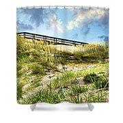 Tybee Island Dunes No.2 Shower Curtain