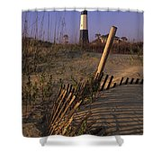 Tybee Island Lighthouse - Fs000812 Shower Curtain