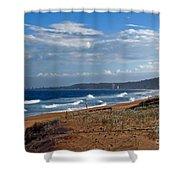 Typical Australian Beach Shower Curtain