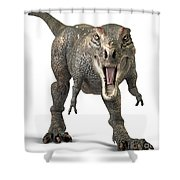 Tyrannosaurus Rex  Shower Curtain by Roger Hall and Photo Researchers