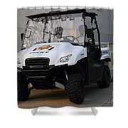 Uc Berkeley Campus Police Buggy  . 7d10184 Shower Curtain