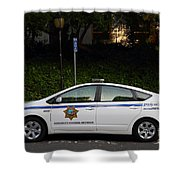 Uc Berkeley Campus Police Car  . 7d10181 Shower Curtain