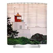 Ucluelet Lighthouse Shower Curtain