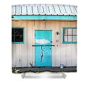 Ufo House Shower Curtain