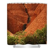 Uluru Australia 4 Shower Curtain