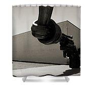 Un Fleuve De Liberte Shower Curtain