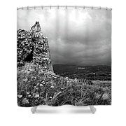 Un Torre Di Calabria Shower Curtain
