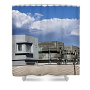 Under Construction Palm Springs Shower Curtain