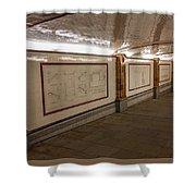 Under Southwark Bridge Shower Curtain