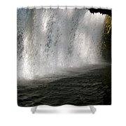 Under The Falls 3 Shower Curtain