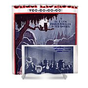 Under The Moon 2 Shower Curtain