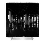 Under The Old Boardwalk Shower Curtain