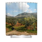 Under The Tuscan Skies Shower Curtain