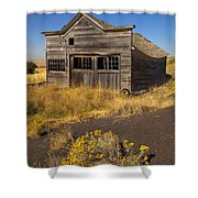 Under The Weight Of It All Shower Curtain by Mike  Dawson