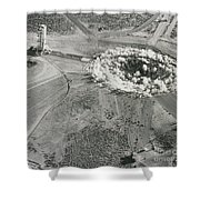 Underground Atomic Bomb Test Shower Curtain