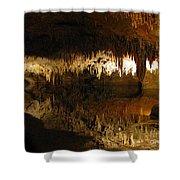 Underground Lake 02. Luray Caverns Va Shower Curtain