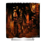 Underground Splendor Shower Curtain