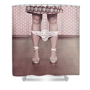 Underpants Shower Curtain by Joana Kruse