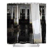 Underpass The Reflections  Shower Curtain