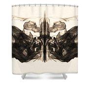 Underwater Butterfly Shower Curtain
