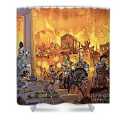 Unidentified Roman Attack Shower Curtain
