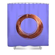 Uninsulated Copper Wire Shower Curtain